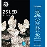 GE StayBright 25 LED C-9 Warm White Lights