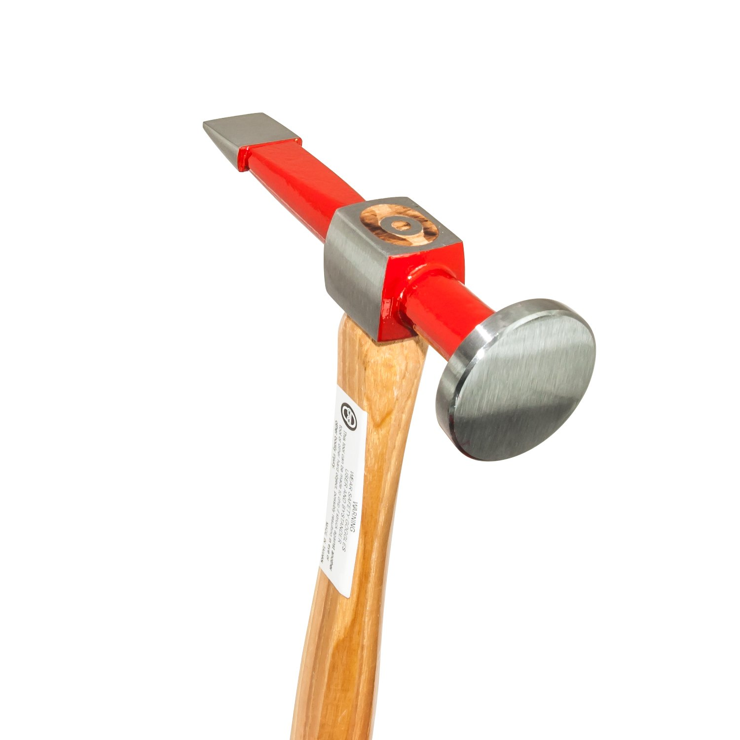 AES Industries Professional Straight Finishing Hammer with Genuine Hickory Handle
