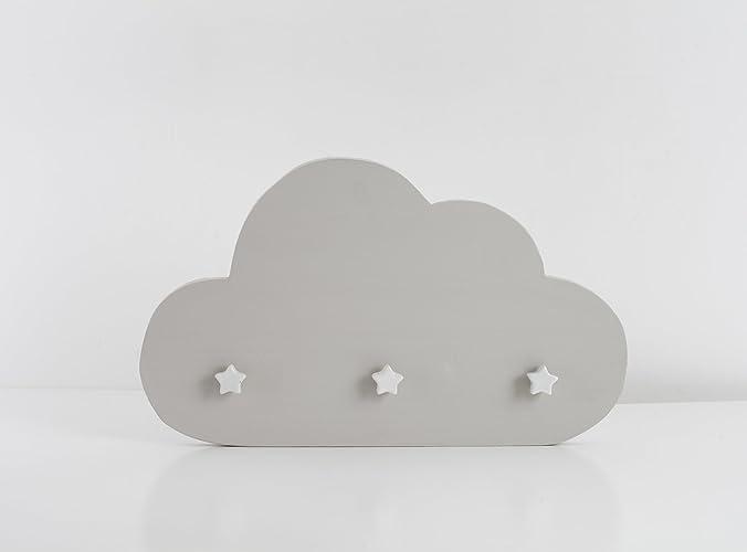 Nube Perchero Gris: Amazon.es: Handmade