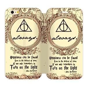 Fashion Hogwarts Marauder's Map Harry Potter Custom Cover Case for iPhone6 Plus 5.5