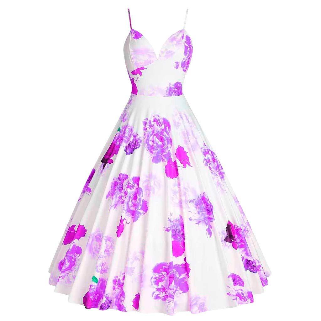 Vintage Print Dress