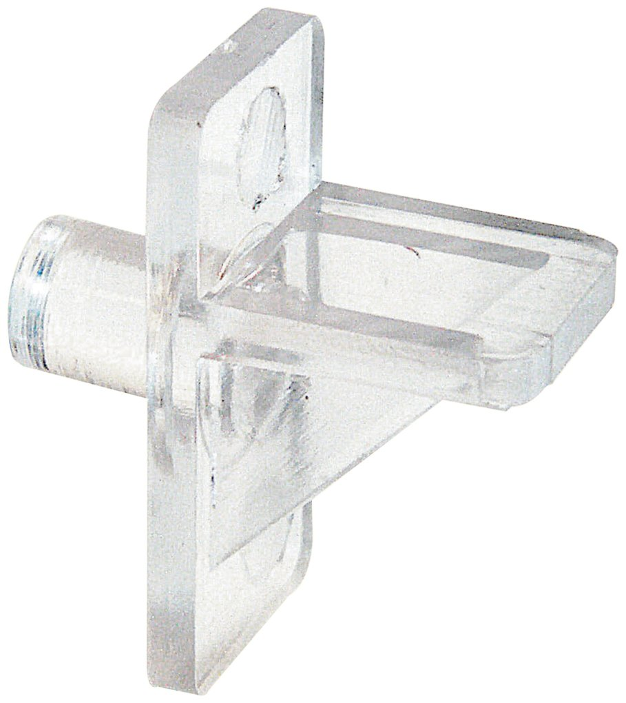 Prime-Line Products U 10136 Shelf Support Peg, 1/4-Inch, Clear Plastic,(Pack of 8)