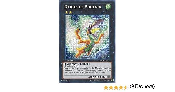 YuGiOh Daigusto Phoenix HA06-EN054 Secret Rare 1st Edition Mint Condition