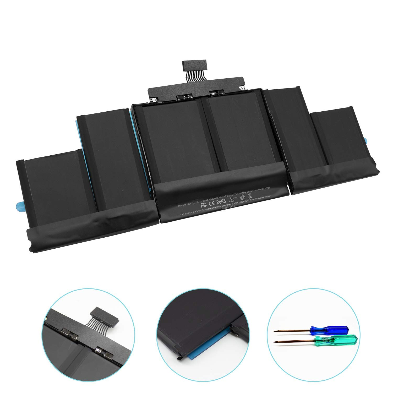 11.26V//95Wh NinjaBatt Battery A1494 for Apple MacBook Pro Retina 15 High Capacity A1398 ME293 ME294 Mid /& Late 2013 2014 Years