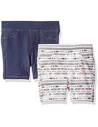 Lee Bermuda - Pantalones Cortos para niña (2 Unidades)
