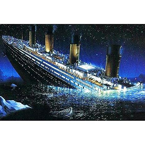 MUILOO Full Drill 5D DIY Diamond Painting Titanic 3D Embroidery Set Cross Stitch Mosaic Decor Gift 4336931663
