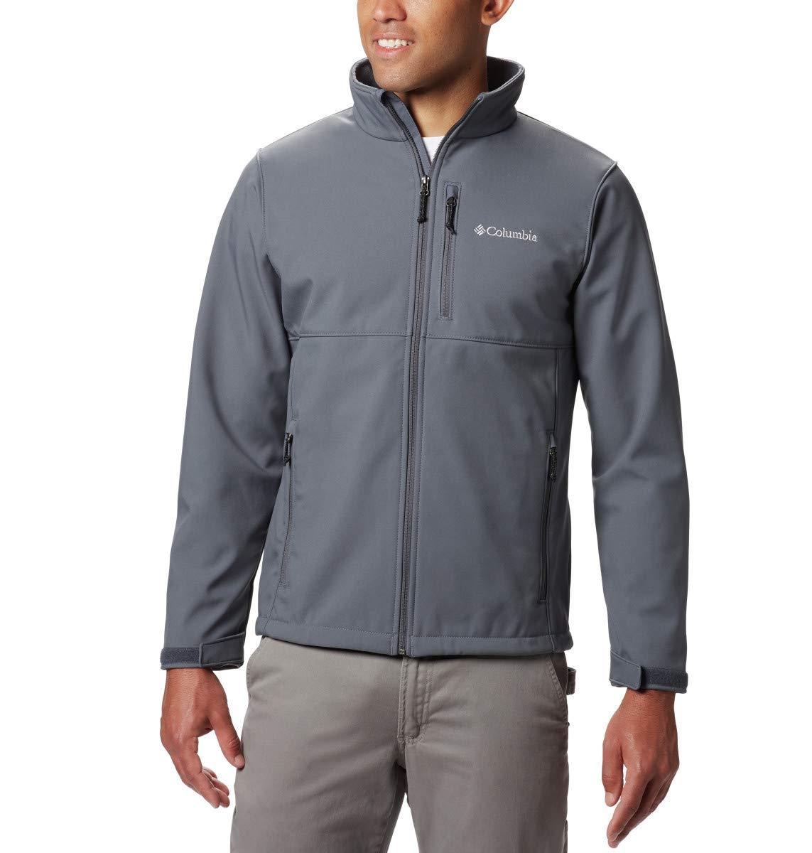 Columbia Men's Ascender Softshell Jacket, Water