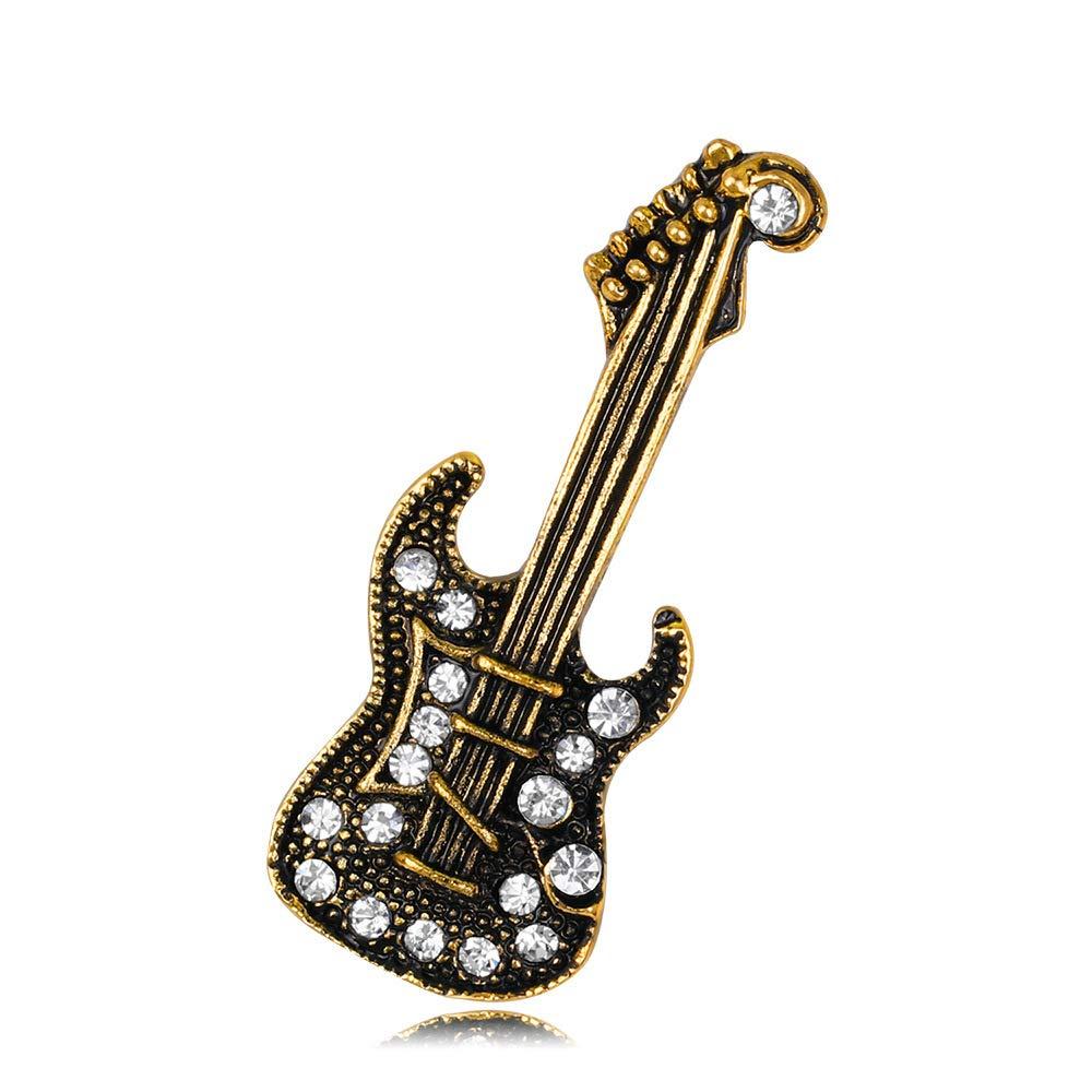 MAlex De aleación de perforación Ropa de Broche Guitarra de Oro ...