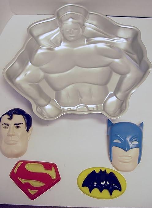 Vintage DC Comics Superman Cake Mold Pan
