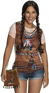 Unbekannt Indianerin Handtasche mit Federschmuck - vertrieb durch ABAV