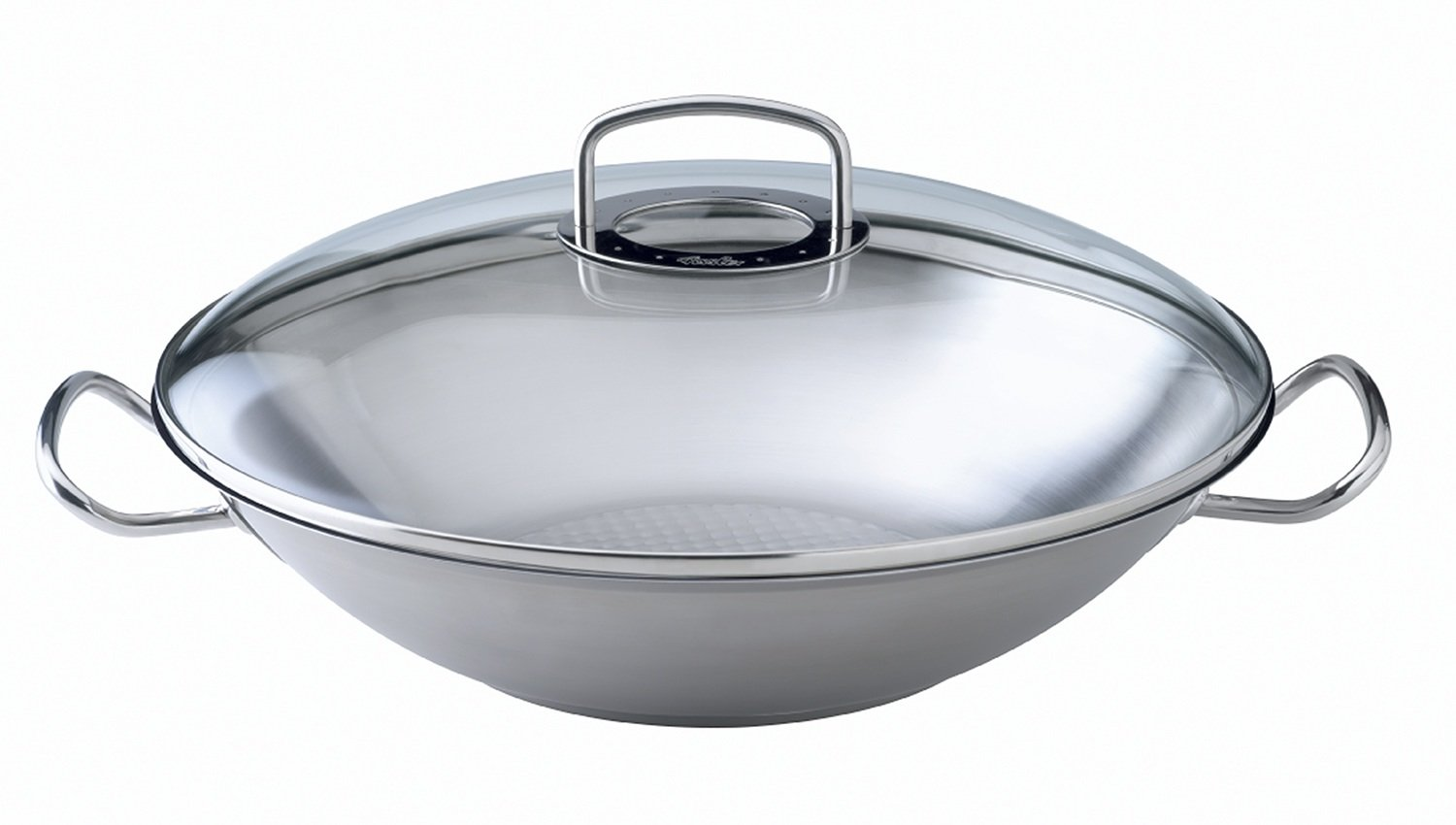 Fissler Original Pro Collection Wok with Glass Lid