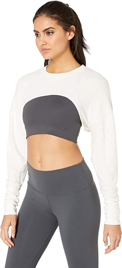 7bd290336b8 ALO Women's Extreme Long Sleeve Top at Amazon Women's Clothing store: