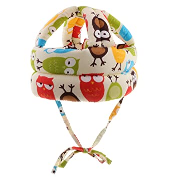 B Baosity - Casco de seguridad ajustable para niños pequeños con ...
