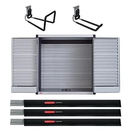 Amazon Com Rubbermaid Fast Track Garage Storage System Tool Cabinet