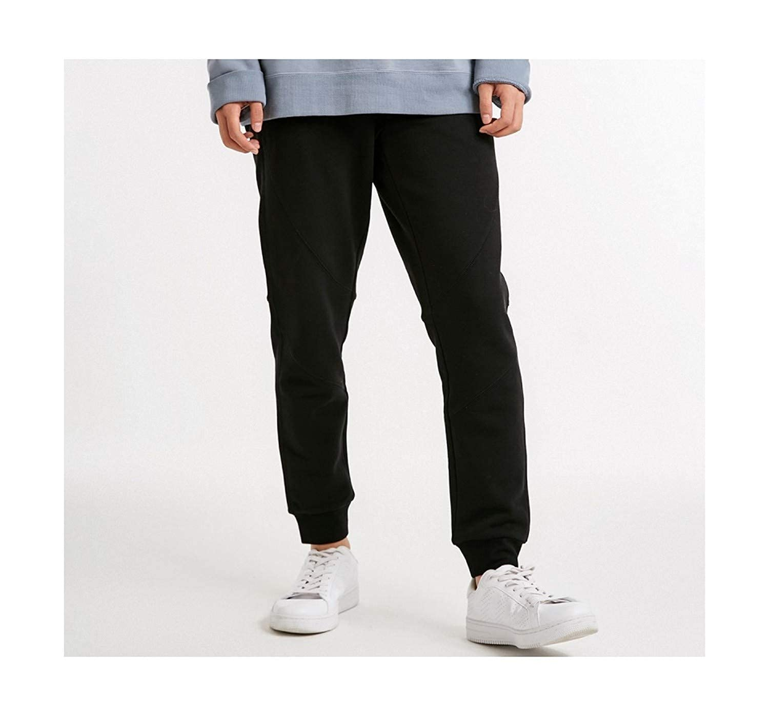 Spring Mens Stretch Fashion Trend Comfortable Sports Trousers
