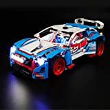 BRIKSMAX Led Lighting Kit for Technic Rally Car - Compatible with Lego 42077 Building Blocks Model- Not Include The Lego…