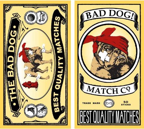 HomArt Large Decorative Bad Dog Matches Decorative Matches