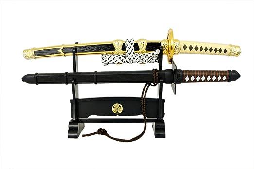 Amazon.com: Abrecartas japonés/Samurai Ninja miniatura ...