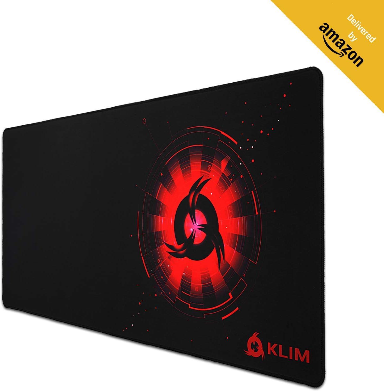 KLIM - Alfombrilla de ratón XL - Superficie Amplia: Amazon.es ...