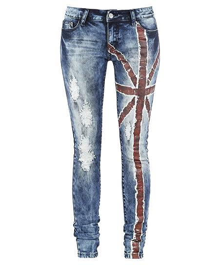 Distressed skinny jeans amazon