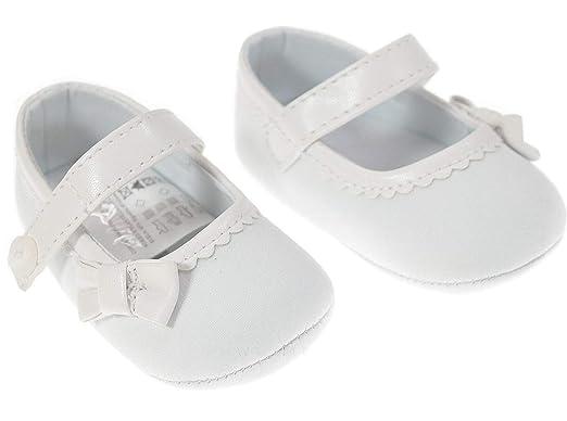 Mayoral Festliche Mädchen Baby Schuhe Weiß Zur Taufe