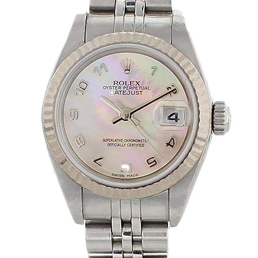 Rolex Reloj De Viento Automático Datejust 79174 para Mujeres: Rolex: Amazon.es: Relojes