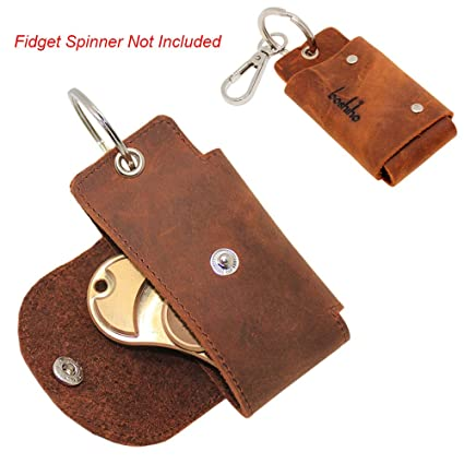 Amazon EDC Fid Spinner Case Holder Boshiho Genunine Leather