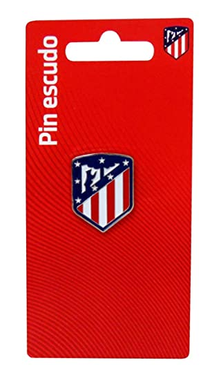 Atletico DE Madrid Pin Escudo Lacado: Amazon.es: Juguetes y ...
