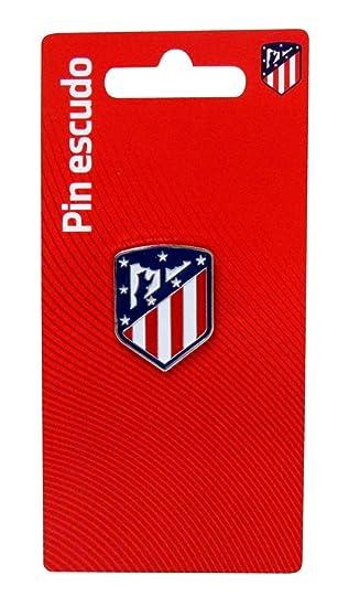 Atletico DE Madrid Pin Escudo Lacado: Amazon.es: Juguetes y ...