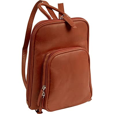 5a3bc17f8498 Amazon.com  Osgoode Marley Cashmere Small Organizer Backpack (Brandy)  Medium  NOOR LUGGAGE