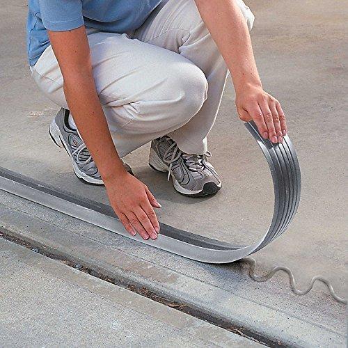 10' Garage Door Threshold Seal by Improvements (Scrub Brush 10' Floor)