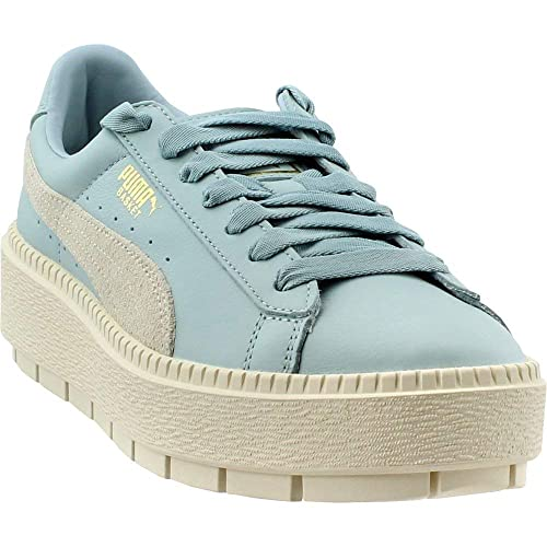huge discount ab26d a24db PUMA Women's Basket Platform Trace Block Sneakers: Amazon.ca ...