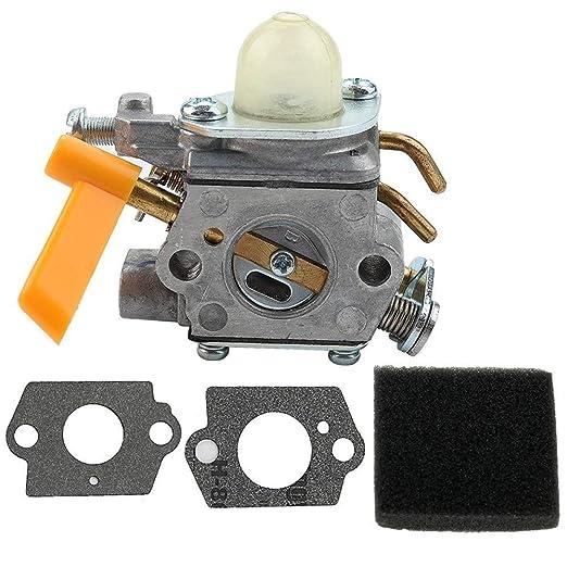 DierCosy Tools Carburador con Filtro De Aire Junta para Homelite ...