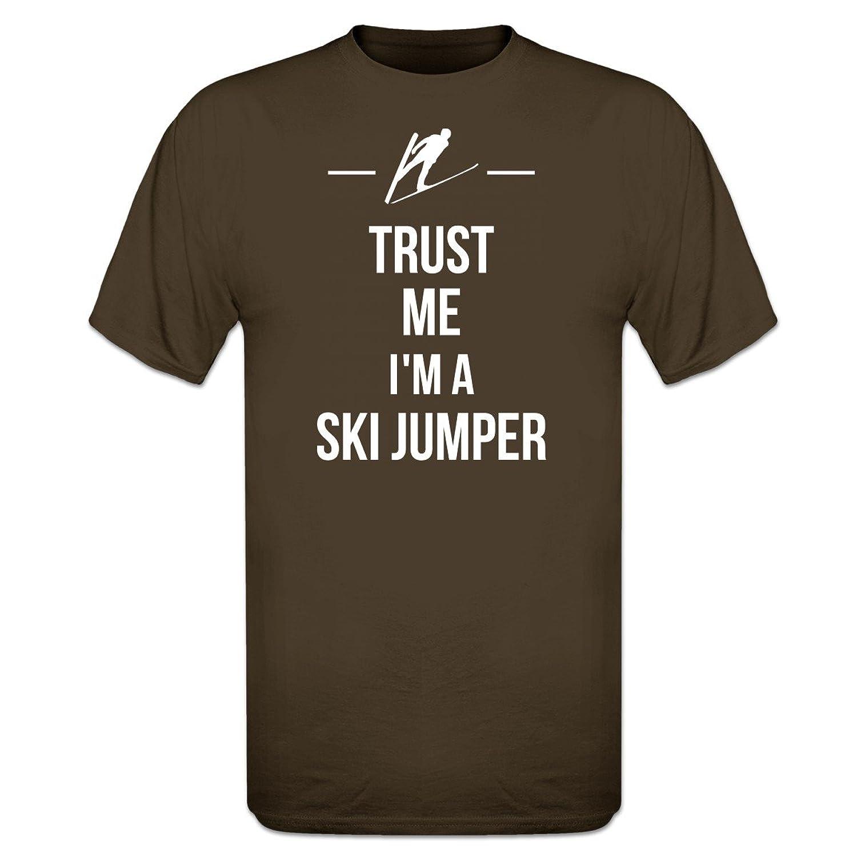 Trust Me I´m A Ski Jumper T-Shirt by Shirtcity