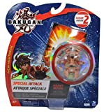 Bakugan Battle Brawlers New Vestroia Season 2 Heavy Metal Single Pack Special Attack Series - Subterra Brown Alpha Hydranoid with 1 Ability Card and 1 Metal Gate Card
