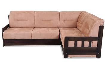 Campus Outdoor Küchen : Sofa couch ecksofa xl campus mit schlaffunktion braun amazon