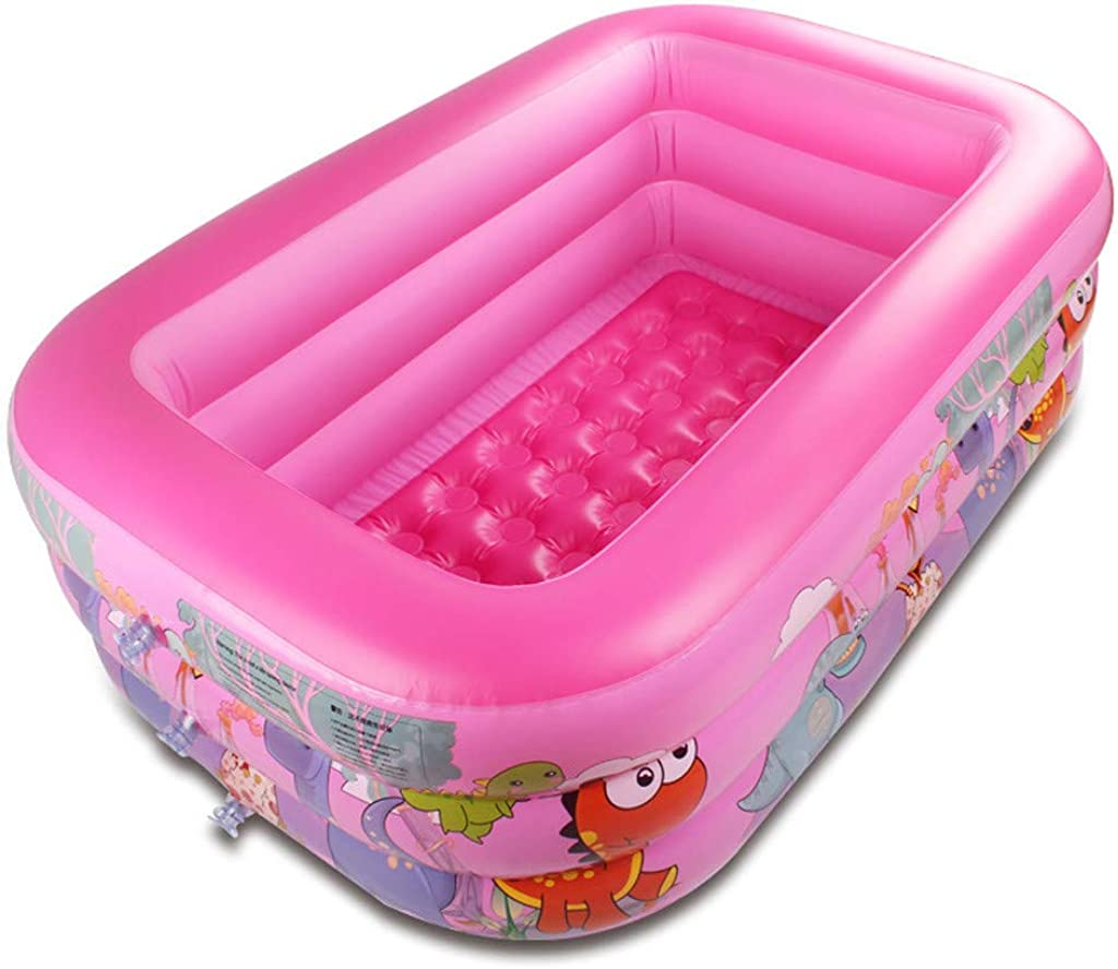 Backyard Fountain Play Mat for 1-12 Year Old Girls Boys, Swimming Pool, Rubber Swim Ring, Party, Outdoors, Indoors