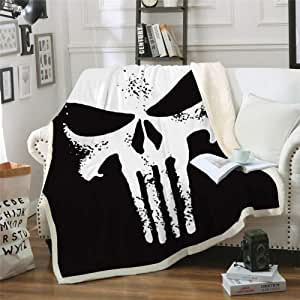Details about  /Supernatural 3D Print Sherpa Blanket Sofa Couch Quilt Cover Bedding Blanket SB24