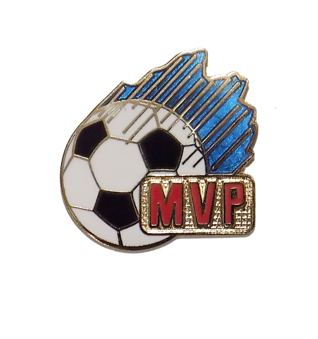 # 131 MVP Soccer Pin (1 inch in size) Code Four Athletics PIN-131-MVP