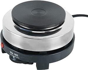 DasMarine 110V Small Electric Stove 500W Portable Countertop 5.5
