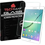 TECHGEAR® Samsung Galaxy Tab S2 9.7 Inch (SM-T810 / SM-T815) GLASS Edition Genuine Tempered Glass Screen Protector Guard Cover