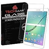 TECHGEAR® Samsung Galaxy Tab S2 9.7 Inch (SM-T810 / SM-T815) GLASS Edition Genuine Tempered Glass Screen Protector Guard Cover