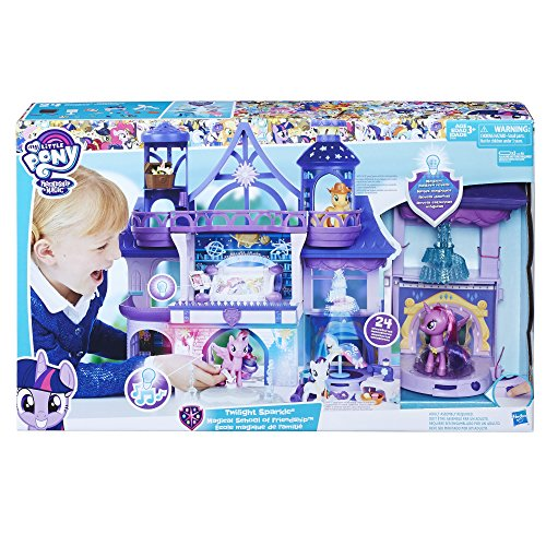 My Little Pony - Magical School of Friendship Playset with Twilight Sparkle Figure, 24 Accessories, Ages 3 and Up ()