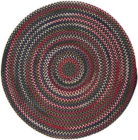 Chestnut Knoll Oval Area Rug, 2 by 3-Feet, Amber Rose