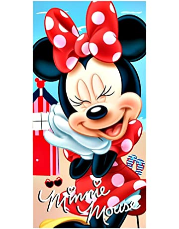 Toalla de playa minnie mouse
