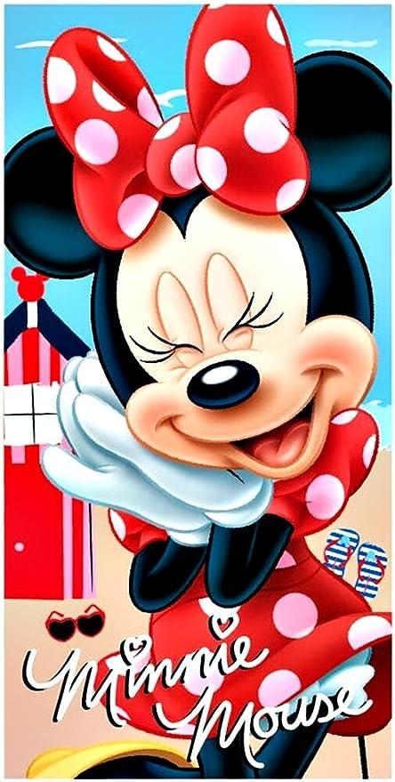 Toalla de playa minnie mouse