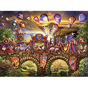Ceaco Ciro Marchetti Magical World Carnivale Parade Puzzle By Ceaco