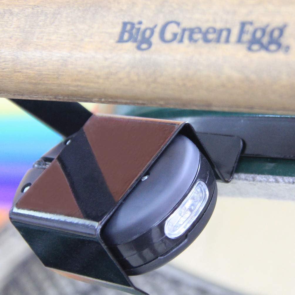 Dracarys Multifuncional BBQ Grill Light 24 Ultra-Bright LED Light La mejor herramienta para barbacoa y accesorios para todos los Big Green Egg o Kamado Joe o Weber Grills (alimentado por batería)
