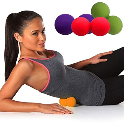 PBFONE Bola de masaje de yoga Forma de maní Bola Terapia de ...