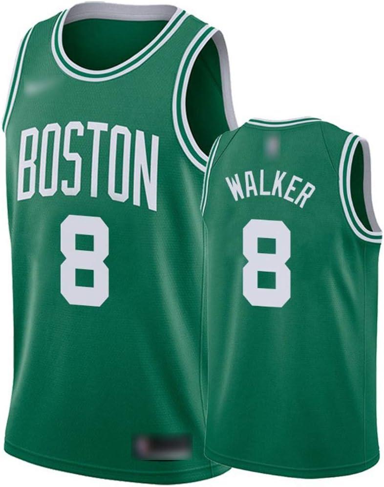 ATI-HSKJ Basketball-Trikots Boston Celtics 8# Antoine Walker Fans M/änner Basketball Westen Tops Retro Sweatshirt Swingman Jersey Gr/ün BH288,2XL:185cm~190cm